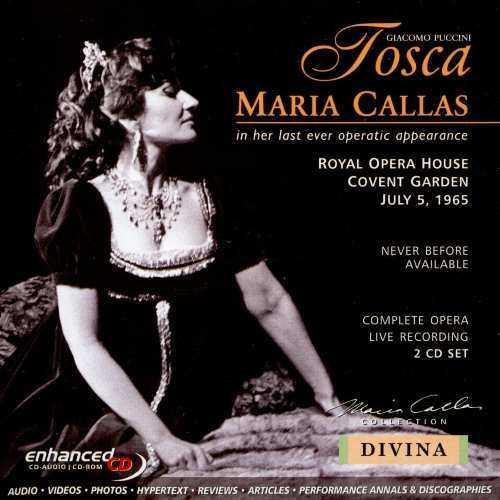 Pretre, Callas: Puccini - Tosca 1965 (2 CD, FLAC)