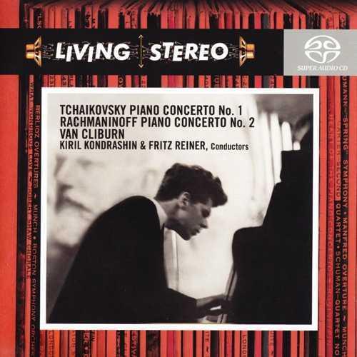 Cliburn: Tchaikovsky, Rachmaninov - Piano Concertos (FLAC)