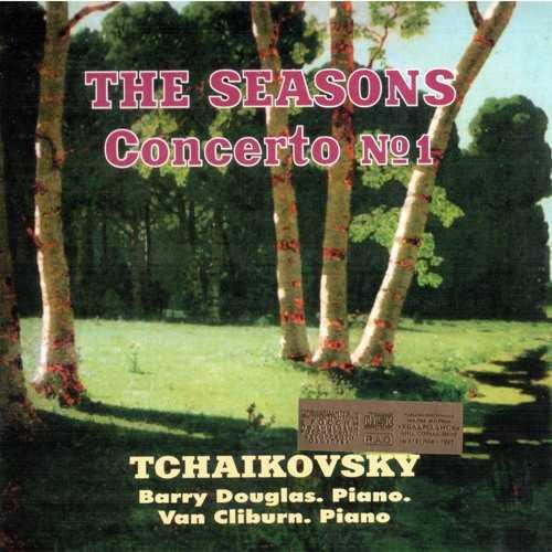 Douglas, Cliburn: Tchaikovsky - The Seasons, Romance, Concerto no.1 (FLAC)