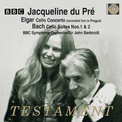 Barbirolli, du Pre: Elgar - Cello Concerto, Bach - Cello Suites no.1, 2 (FLAC)
