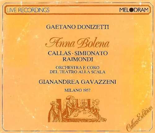Gavazzeni: Donizetti - Anna Bolena (2 CD, FLAC)