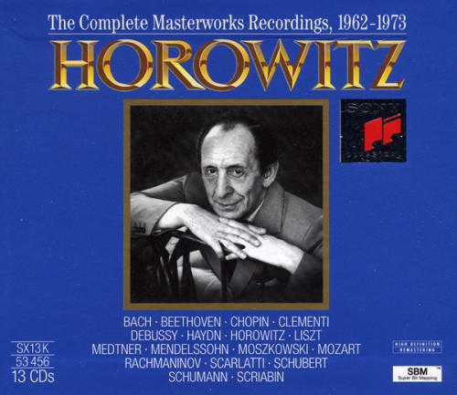 Horowitz: The Complete Masterworks Recordings 1962-1973 (13 CD box set, APE)