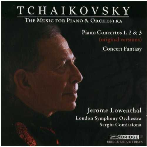 Lowenthal: Tchaikovsky - The Music for Piano and Orchestra (2 CD, FLAC)