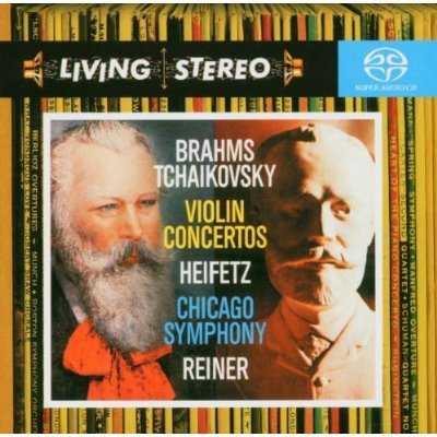 Reiner, Heifetz: Brahms, Tchaikovsky - Violin Concertos (FLAC)