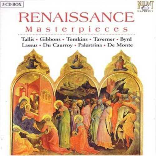 Higginbottom: Renaissance Masterpieces (5 CD box set, APE)