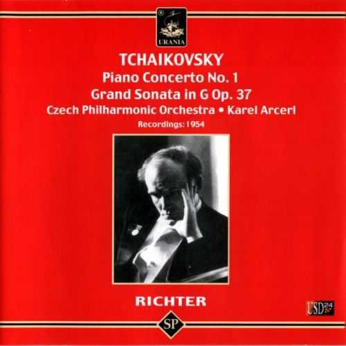 Richter: Tchaikovsky - Piano Concerto no.1, Grand Sonata op.37 (APE)