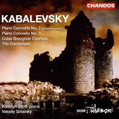Stott, Sinaisky: Kabalevsky - Piano Concertos nos.2,3, Colas Breugnon Overture, The Comedians (FLAC)