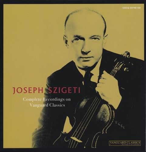 Joseph Szigeti - Complete Recordings on Vanguard Classics (11 CD box set, APE)