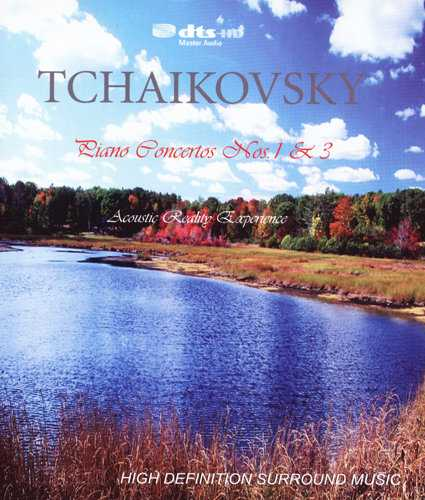 Scherbakov, Yablonsky: Tchaikovsky - Piano Concertos no.1, 3 (DVD-A, 96kHz / 24bit, ISO)