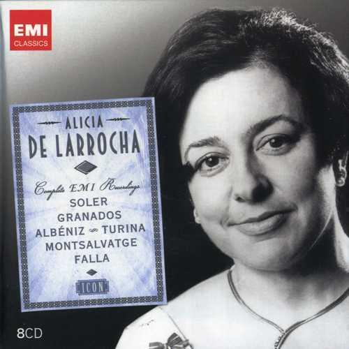 Alicia de Larrocha - The Complete EMI Recordings (8 CD box set, FLAC)