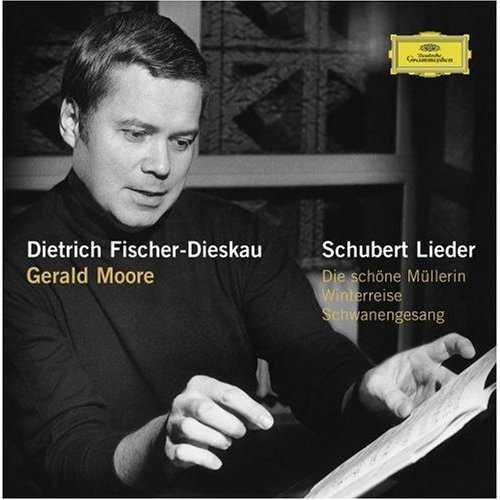Fischer-Dieskau, Moore - Schubert Lieder (21 CD box set, APE)
