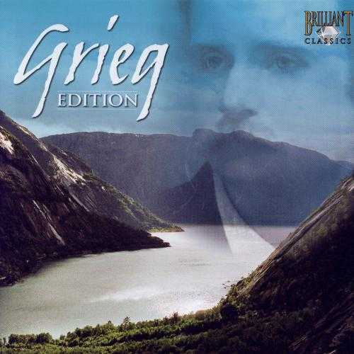 Grieg Edition (21 CD box set, FLAC)