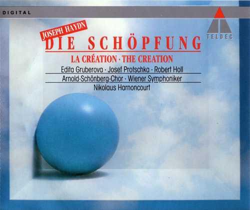 Harnoncourt: Haydn - Die Schöpfung, 1986 (2 CD, FLAC)