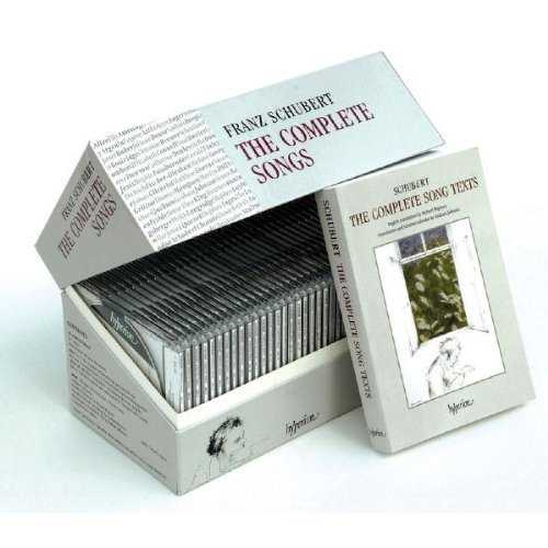 Schubert: The Complete Songs (40 CD box set, FLAC)