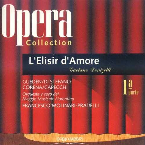 Molinari Pradelli: Donizetti L'Elisir d'Amore (2 CD, APE)