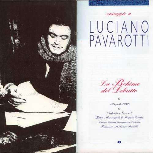 Molinari-Pradelli, Pavarotti: Puccini - La Boheme del Debutte (2 CD, APE)