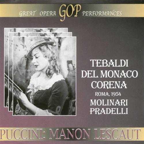 Molinari-Pradelli: Puccini - Manon Lescaut, Roma 1954 (2 CD, APE)