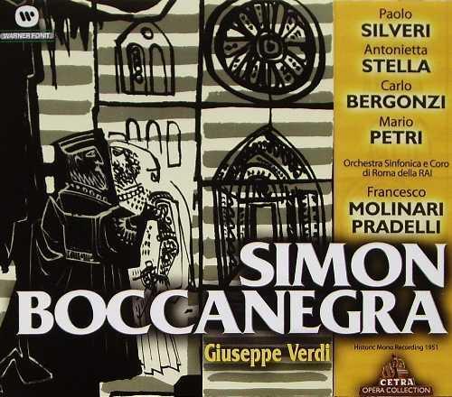 Molinari-Pradelli: Verdi - Simon Boccanegra (2 CD, APE)