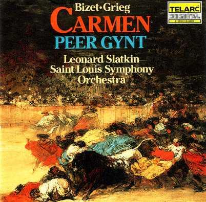 Slatkin: Bizet - Carmen, Grieg - Peer Gynt (FLAC)