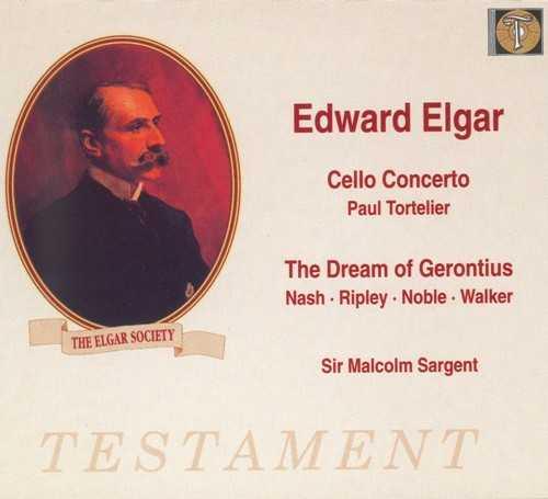 Sargent: Elgar - Cello Concerto op.85, The Dream Of Gerontius op.38 (2 CD, APE)