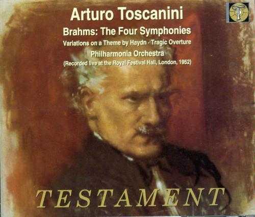 Toscanini: Brahms - The Four Symphonies (3 CD, APE)