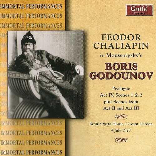 Belleza, Chaliapin: Mussorgsky - Boris Godunov, 1928 (FLAC)