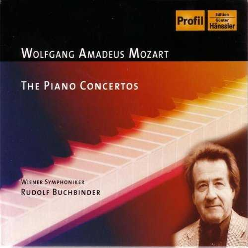 Buchbinder: Mozart - Piano Concertos (9 CD box set, FLAC)