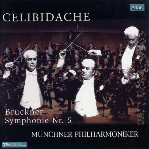 Celibidache: Bruckner - Symphony no.5 (2 CD, APE)