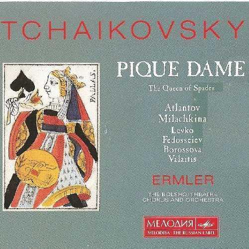Ermler: Tchaikovsky - Pique Dame, 1974 (3 CD, FLAC)