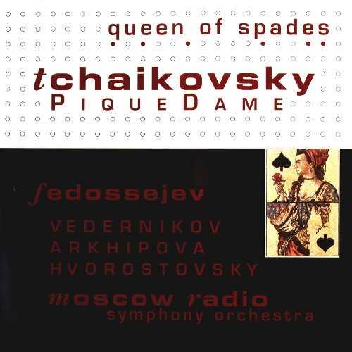 Fedoseyev: Tchaikovsky - Pique Dame, 1989 (3 CD, FLAC)