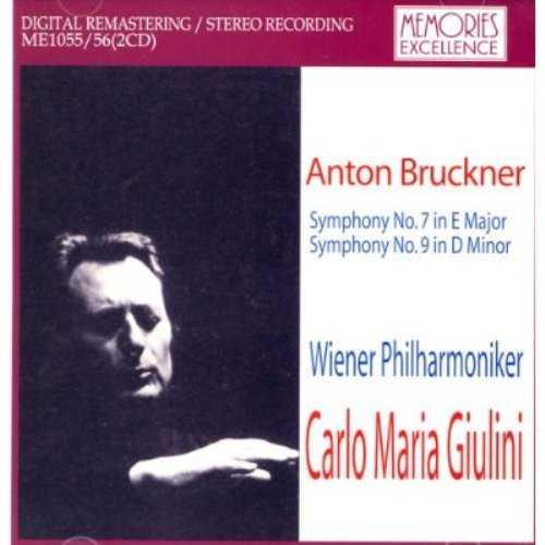 Giulini: Bruckner - Symphony no.7, 9 (2 CD, FLAC)