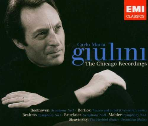 Carlo Maria Giulini - The Chicago Recordings (4 CD box set, FLAC)
