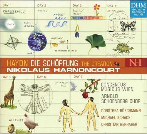 Harnoncourt: Haydn - Die Schöpfung, 2003 (2 CD, FLAC)