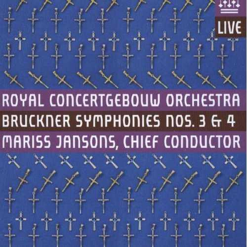 Jansons: Bruckner - Symphonies no.3, 4 (2 CD, FLAC)