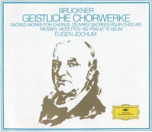 Jochum: Bruckner - Geistliche Chorwerke (4 CD, APE)