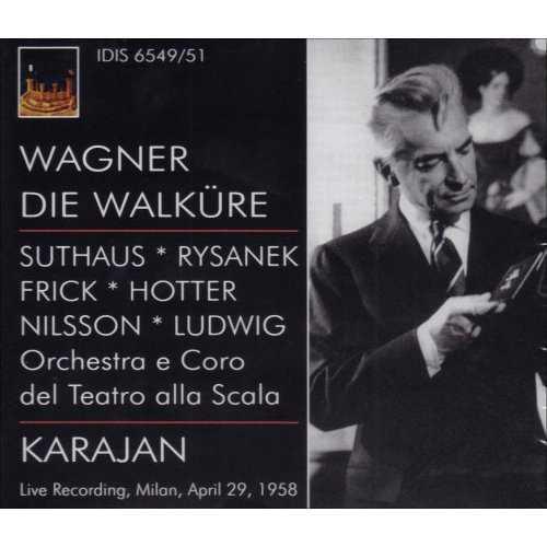 Karajan: Wagner - Die Walküre (3 CD, FLAC)