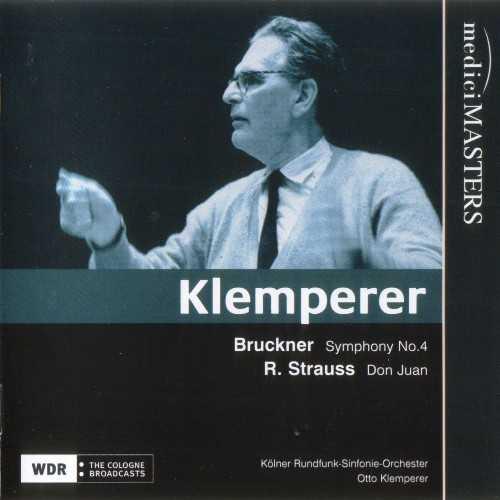 Klemperer: Bruckner - Symphony no.4, Strauss - Don Juan (FLAC)
