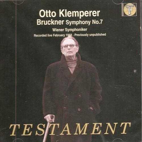 Klemperer: Bruckner - Symphony no.7 (APE)