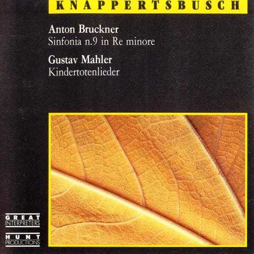 Knappertsbusch: Bruckner - Symphony no.9, Mahler - Kindertotenlieder (FLAC)