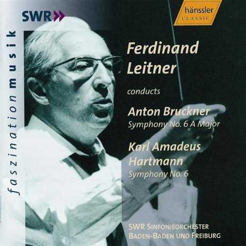 Leitner: Bruckner - Symphony no.6, Hartmann - Symphony no.6 (FLAC)