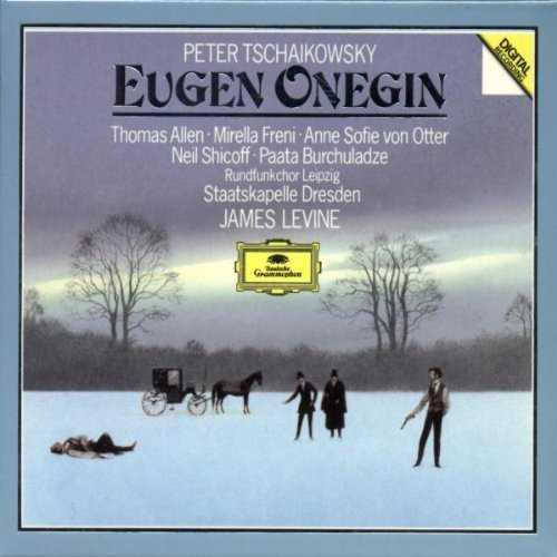 Levine: Tchaikovsky - Eugene Onegin, 1987 (2 CD, FLAC)