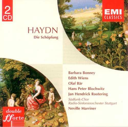 Double fforte. Marriner: Haydn - Die Schöpfung (2 CD, FLAC)