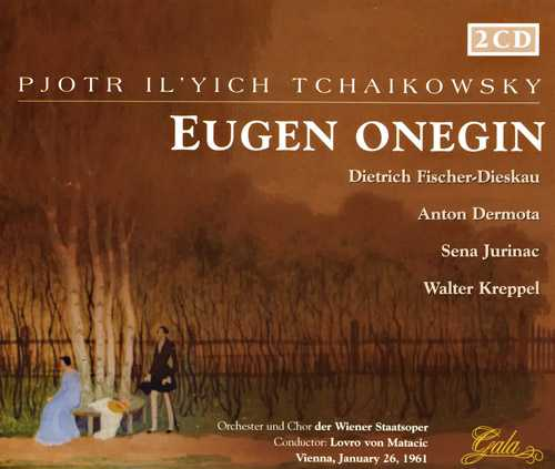 Matacic: Tchaikovsky - Eugene Onegin, 1961 (2 CD, FLAC)