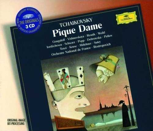 Rostropovich: Tchaikovsky - Pique Dame, 1977 (3 CD, FLAC)