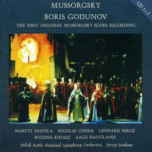 Semkov: Mussorgsky - Boris Godunov, 1977 (3 CD, FLAC)