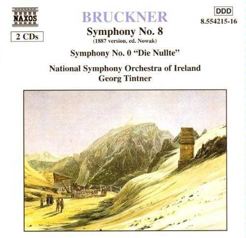 "Tintner: Bruckner - Symphony no.8, 0 ""Die Nullte"" (2 CD, FLAC)"