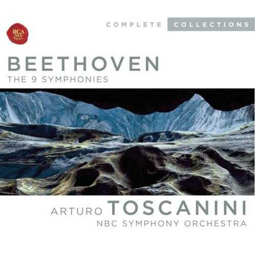 Toscanini: Beethoven - The 9 Symphonies (5 CD box set, WV)