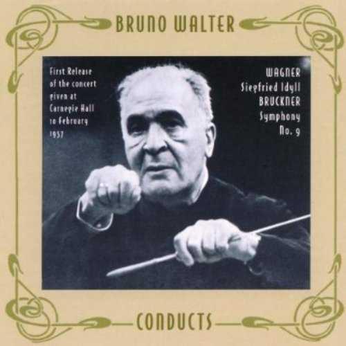 Walter: Bruckner - Symphony no.9, Wagner - Siegfried Idyll (APE)