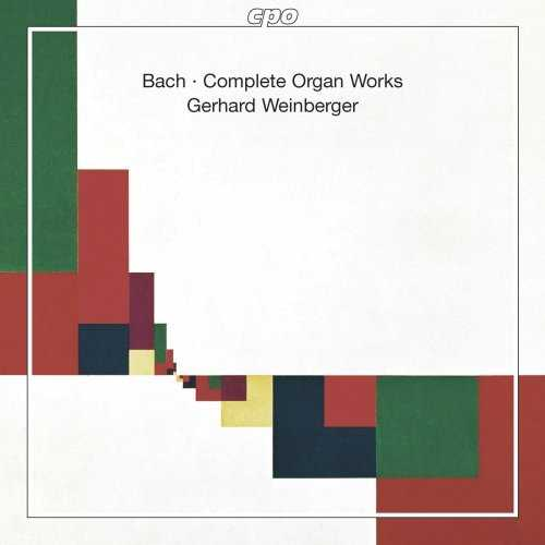 Weinberger: Bach - Complete Organ Works (22 CD box set, WV)