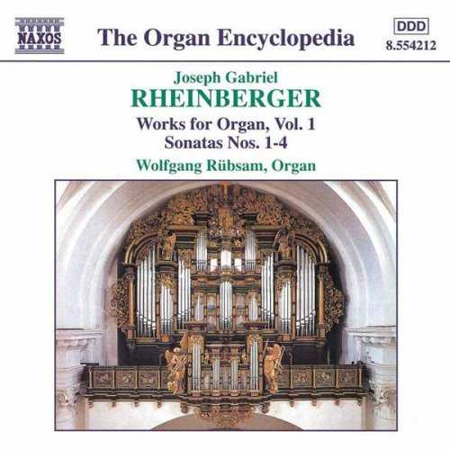 Rubsam: Joseph Rheinberger - Works For Organ vol.01-08 (8 CD, WavPack)